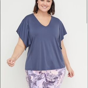 Lane Bryant Eco-Chic Back-Strap Active Tee